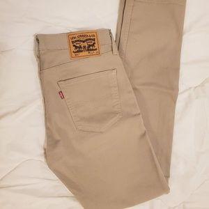 Levi's Beige Jeans